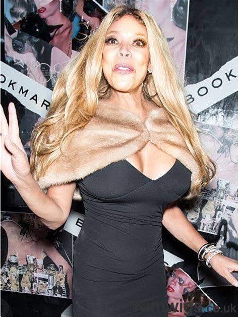Without Bangs Wavy Blonde 24 Inch Fashion Wendy Williams Wigs
