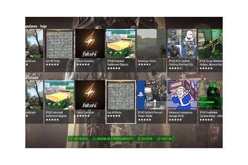 baixar de mod do console fallout 4 ps4