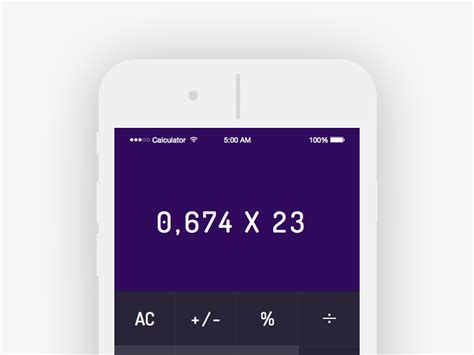 calculator app freebie  sketch resource sketch