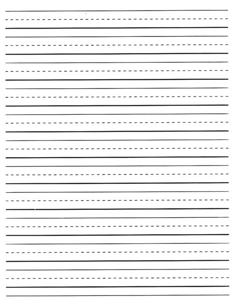 printable lined handwriting paper printable pages