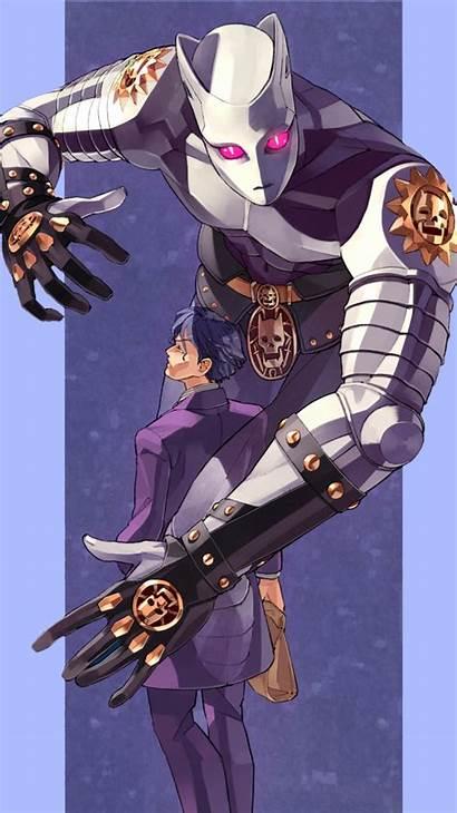 Jojo Killer Queen Kira Yoshikage Bizarre Adventure
