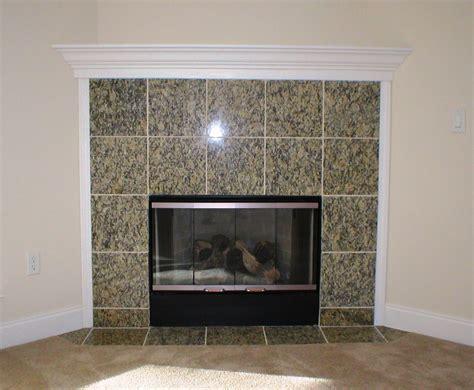 Granite Tile Fireplace Surround Ideas