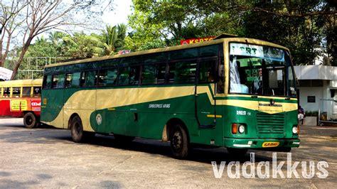 "Apply online at ksrtc.in official. Kerala KSRTC Super Express ""Air Bus"" RNE 51 of Trissur ..."