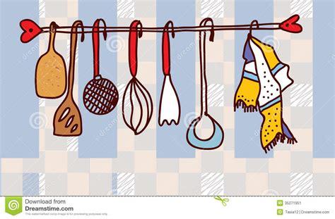 image d ustensiles de cuisine étagère d 39 ustensiles de cuisine drôle image stock image