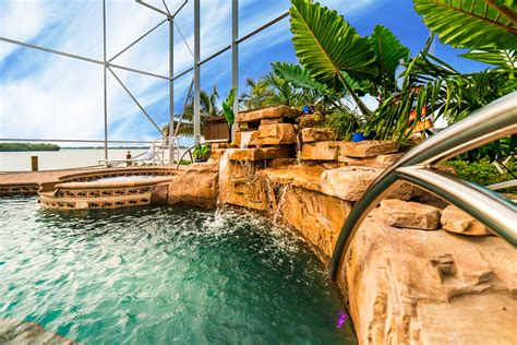 Aquascape Swimming Pools by Swimming Pool Builders Aquascapes Design Sarasota