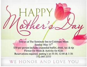 Indiantown Chamber of Commerce - Mother's Day breakfast OR ...