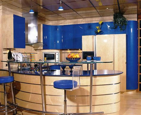 deco cuisine bleu nouvelle d 233 coration cuisine bleu