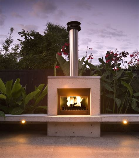 outdoor fireplaces pizza ovens landscape design garden