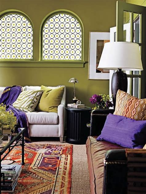 Purple And Olive Green Bedroom 6 On Bedroom Design Ideas