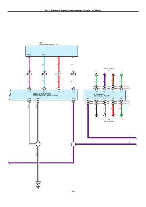 2009 toyota corolla speaker wiring diagram wiring diagram and schematics