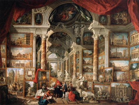 musee moderne rome file paolo pannini gallery of views of modern rome wga16980 jpg wikimedia commons