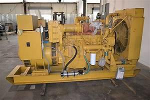 Caterpillar 3406di 250 Kw Diesel Generator  313 Kva  631 Hours
