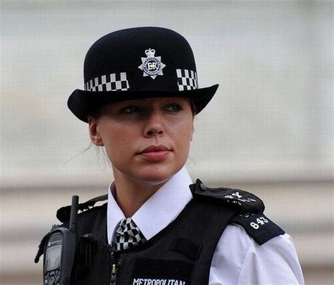Pretty Policewoman In Different Countries Part