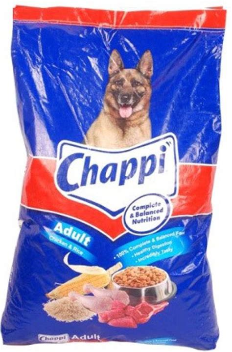 pedigree chappi kg chicken rice dog food price  india