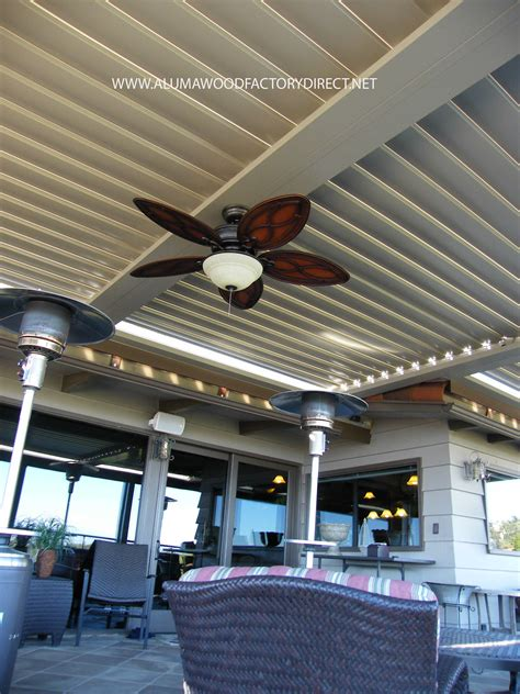 patio louvered roof equinox louvered roof system