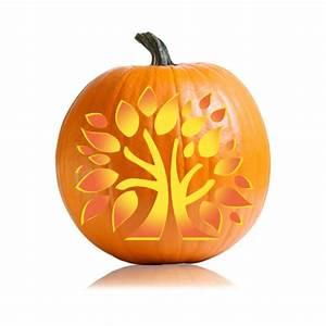 Thanksgiving, Tree, Pumpkin, Stencil