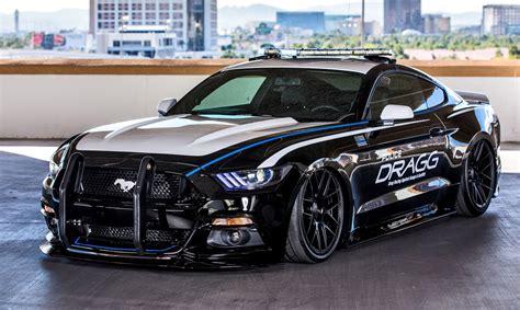 DRAGG Mustang    2015 SEMA