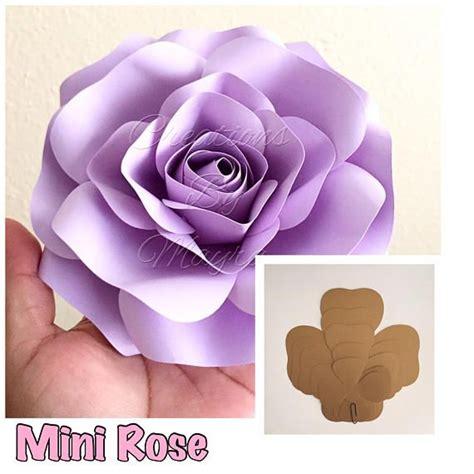 tissue paper rose template pdf large rose template 17 18 quot diy paper roses paper