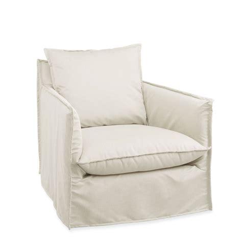 cabana outdoor swivel chair slipcovered