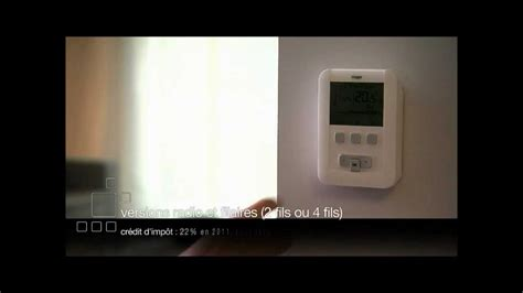 thermostat d ambiance programmable hager