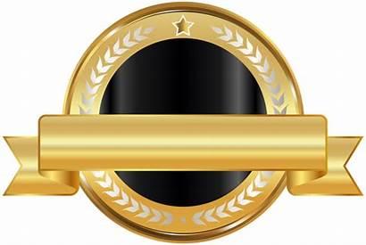 Badge Seal Clip Clipart Ribbon Labels Blank