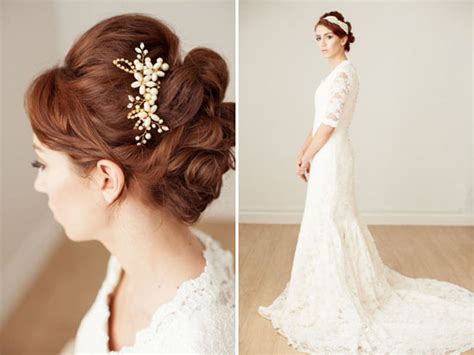 diy hair accessories for wedding the canopy artsy weddings weddings vintage weddings diy weddings 187 hair
