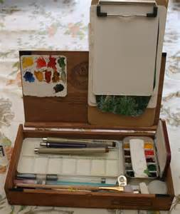 Cigar Box Art Supplies