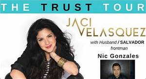 Jaci Velasquez Announces 'Trust' Tour