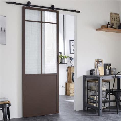 astuce cuisine deco où trouver une porte coulissante atelier style verrière