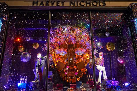 Harrods And Harvey Nichols Unveil Their Christmas 2015 Window Displays  The Independent