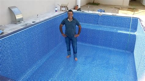 reforma piscina azulejo estampa azzuro piscinas afins
