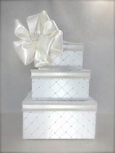 dramatic quilted diamonds wedding card box wedding card With box for gift cards at wedding reception