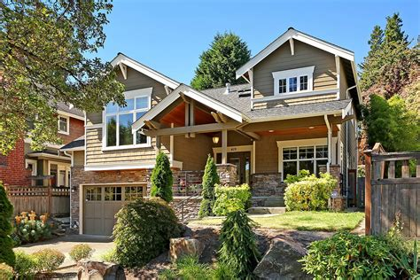 Grand Craftsman Home In Madrona In Seattle
