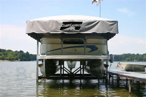 Boat Lift For Pontoon by Pontoon Boat Lifts Pontoon Floating Docks Upcomingcarshq