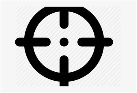 sniper clipart bullseye crosshair cursor  png  pngkit