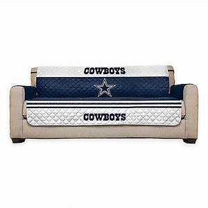 buy nfl dallas cowboys sofa cover from bed bath beyond With nfl furniture covers