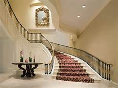 Modern Staircase Design Picture Modern Grand Staircase With Red Carpet Design Ideas