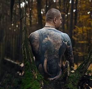 50+ Elephant Tattoos On Back