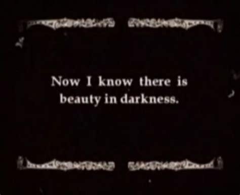 beauty  darkness life