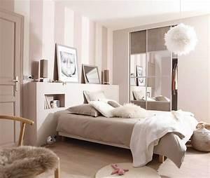 Deco Chambre Blanche : deco chambre taupe et beige inspirations et decoration ~ Zukunftsfamilie.com Idées de Décoration