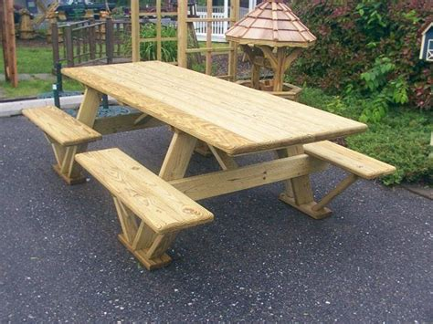 diy wood outdoor table google search picnic table