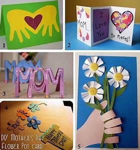 Tarjetas infantiles para el Día de la Madre