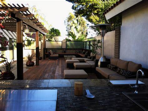 Contemporary Backyard by Warm Contemporary Backyard Schmutzler Hgtv