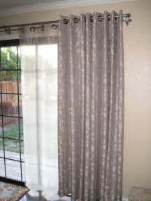 Patio Door Curtains For Traverse Rods by Double Curtain By Cindy Crawford Sold In Jcp Home Decor