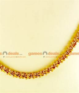 CHRT19 - Gold Plated Jewelry Kerala Sundari Ball Design ...