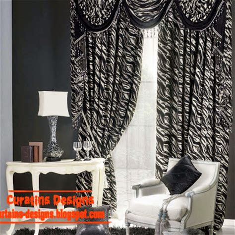 Room With Black Curtains by Black And White Curtains Top 10 Designs Of Black And