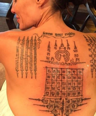 meanings  angelina jolies sak yants tattoos