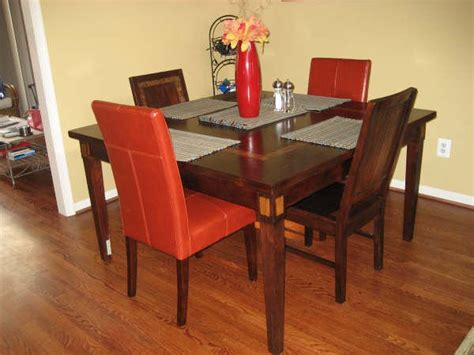 pier one dinning table 6 chairs for sale from alexandria