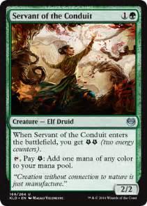 servant of the conduit creature cards mtg salvation