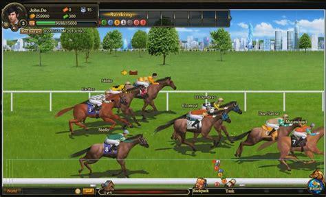race stallion horse racing multiplayer mmorpg game social